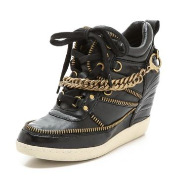 Ash Bluff Chain Wedge Sneakers
