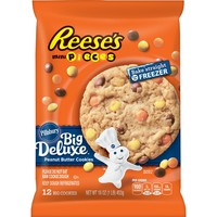 Pillsbury Ready to Bake Cookie Reeses Mini Pieces - 16oz/12ct