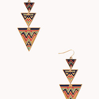 FOREVER 21 Boho Babe Drop Earrings
