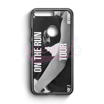 Jay Z And Beyonce On The Run Tour Google Pixel Case | aneend.com