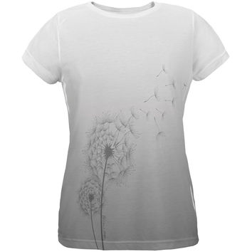 Dandelion Blow Me Funny All Over Womens T Shirt
