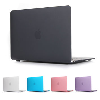 New Hard Crystal Matte Frosted Case Cover Sleeve for MacBook Air 11 A1465/ air 13 inch  A1466 pro 13.3 15 A1278 retina 13 A1502