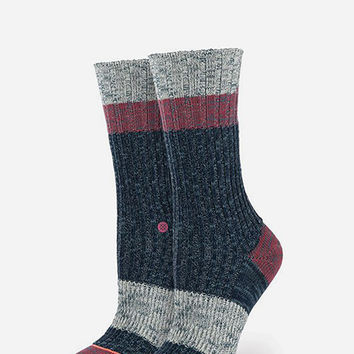 Stance Bear Womens Socks Navy One Size For Women 25913621001