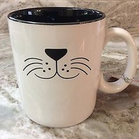 Extra Large Coffee Mug. Dog Mug. Black Inside. 24 oz. 10 Strawberry Street. New.