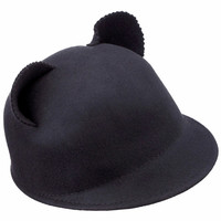 ROMWE | Cat Ears Black Hat, The Latest Street Fashion