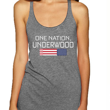 Women's Tank Top House Of One Nation Underwood Cool Top