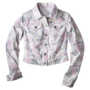 Mossimo Supply Co. Junior's Denim Jacket -Assorted Colors