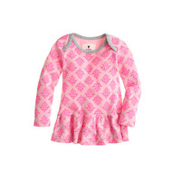 crewcuts Baby Long-Sleeve Ruffle Shirt In Thistle Print