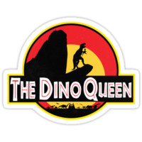 The Dino Queen by moonsunstars