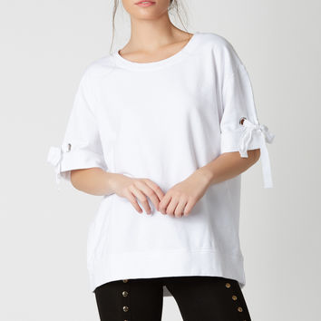 Final Ring Oversized Top