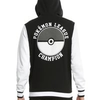 Pokemon Hooded Varsity Jacket