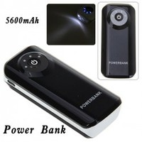 Trendy 5600mAh Mobile External Power Battery Charger for iPhone 4/4S, Various Cell Phones and Digital Devices