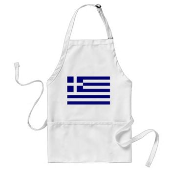 Apron with Flag of Greece