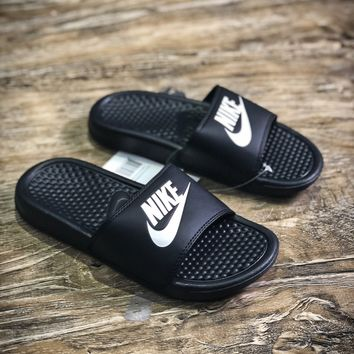 Nike Benassi Swoosh Sandals Style #5 Slippers - Best Online Sale