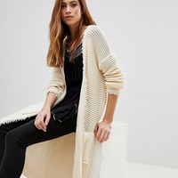 Free People Woodstock Open Cardigan at asos.com