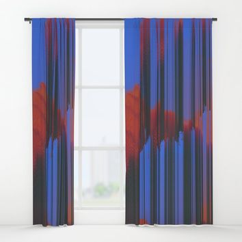 Sunset Melodic Window Curtains by duckyb
