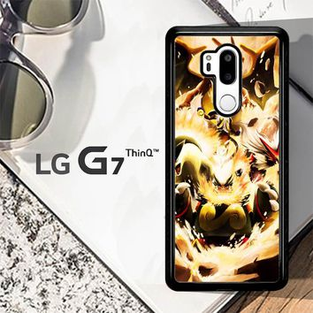 Pokemon Charizard Infernape Z0656 LG G7 ThinQ Case