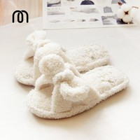 Millffy fluffy slippers indoor plush slippers cute female woman flip flop kawaii slipp