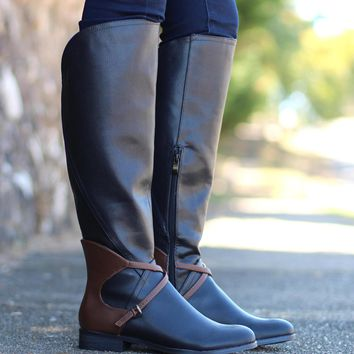 Very Volatile: Backyard Riding Boot {Black}