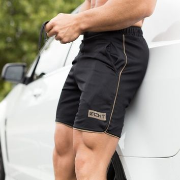New Men's Cotton Self-cultivation Breathable Sports Summer Shorts