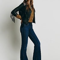 Free People Womens Isabel Panel Flare