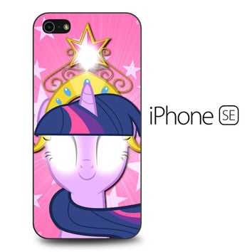 Cartoon My Little Pony Pink iPhone SE Case