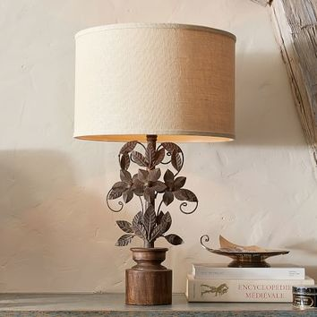 Madeline Romantic Whimsy Table Lamp with Shade