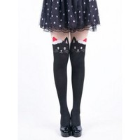 Christmas Cat Tights