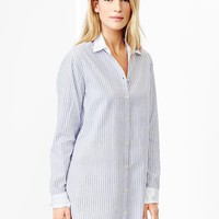 Gap Women Printed Poplin Nightshirt