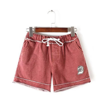 Summer Women's Fashion Stylish Casual Shorts [4919986884]