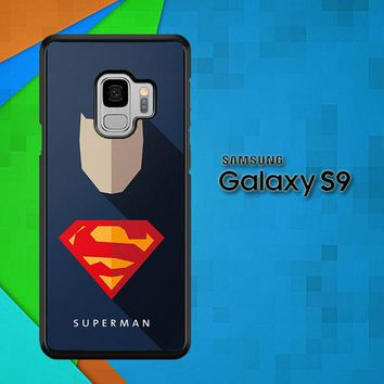 Superhero Superman O0247 Samsung Galaxy S9 Case