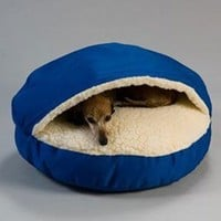 Snoozer Cozy Cave, Large, Royal Blue