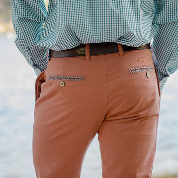 "The Seawash™ Grayton Twill Pant from Southern Marsh - 34"" Inseam"