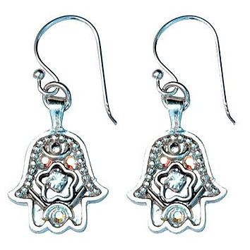 Hamsa Earrings in 9 Color Options- Small