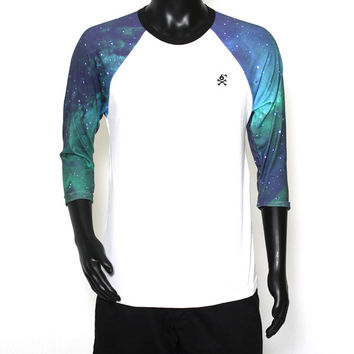 3/4 Sleeve Raglan Unisex Galaxy Tee (Limited Edition)