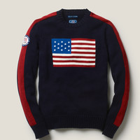 Team USA Crewneck Flag Sweater