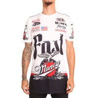 Money Time Racing Shirt Cement
