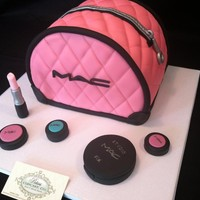 Fondant Make-up Logo, Mac-Makeup Lo.. on Luulla