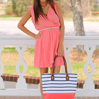 Be Envied Dress, Peach