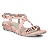 ECCO Touch 25 Chain Wedge Sandals - Coral