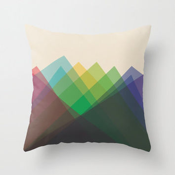 """20""""x20"""" Colorful Geometric Throw Pillow COVER ONLY"""
