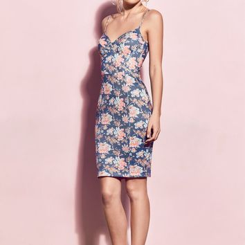 Matea Designs SALLY Floral Midi Dress | Pre-order dispatch 11th Dec