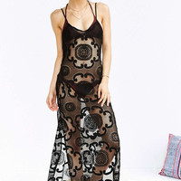 Out From Under Lace For Days Maxi Slip - Urban Outfitters
