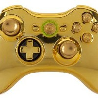 GM Master Mod GOLD Metal Thumbsticks, Bullet Buttons, Trigger Stops, Quickscope, drop shot, Rapid fire for Ghosts, Black Ops 2 Xbox 360 Modded Controller COD MW3, Black Ops 2, Rapid fire mod
