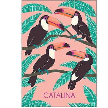 Personalize 2015-2016 Toucans Custom Planner   Paper Source