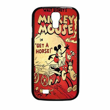 Vintage Mickey Mouse Samsung Galaxy S4 Case