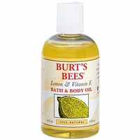 Burt's Bees Body & Bath Oil, with Lemon & Vitamin E