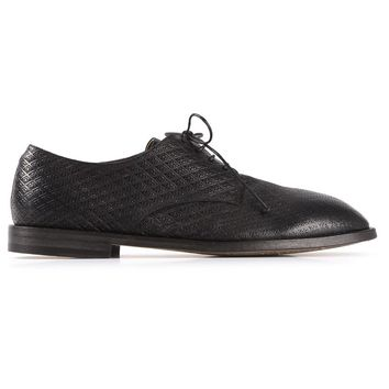 Marsèll laser cut derby shoe