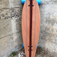 "The Fish:  30"" x 8"" Swallow Tail Cruiser Skateboard"