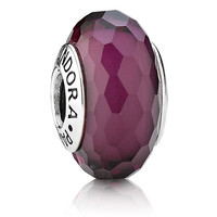 Pandora Fascinating Purple Murano Glass Charm